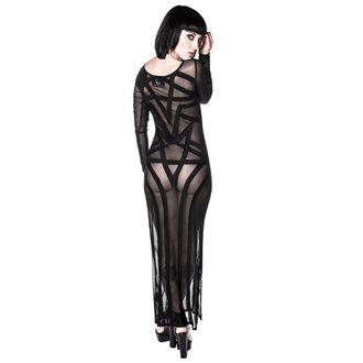 šaty dámské KILLSTAR - Zandra Mesh - Black