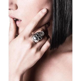 prsten KILLSTAR - Sigil Skull - Silver