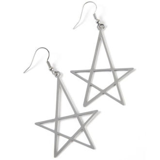 náušnice KILLSTAR - Wicca Earrings - Silver, KILLSTAR