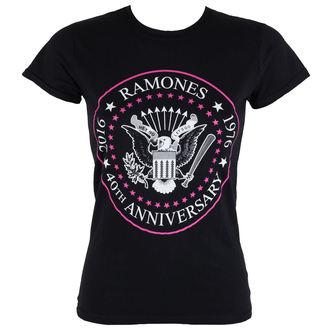 tričko dámské Ramones - 40th Anniversarry - ROCK OFF, ROCK OFF, Ramones