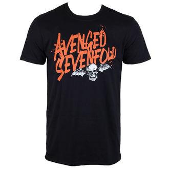 tričko pánské Avenged Sevenfold - LOGO - ROCK OFF, ROCK OFF, Avenged Sevenfold