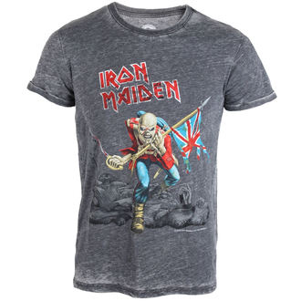 tričko pánské Iron Maiden - Trooper - ROCK OFF, ROCK OFF, Iron Maiden