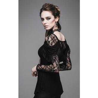 tričko dámské s dlouhým rukávem DEVIL FASHION - Gothic Dhalia - DVTT011