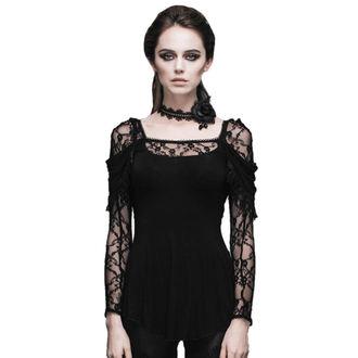 tričko dámské s dlouhým rukávem DEVIL FASHION - Gothic Dhalia - TT011