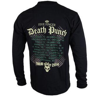 tričko pánské s dlouhým rukávem Five Finger Death Punch - Warhead - ROCK OFF, ROCK OFF, Five Finger Death Punch