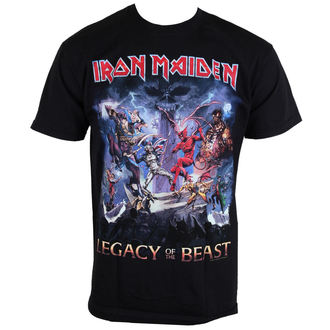 tričko pánské Iron Maiden - Legacy Of The Beast - ROCK OFF, ROCK OFF, Iron Maiden
