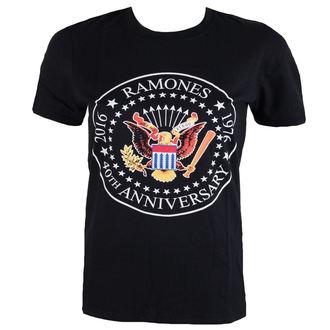 tričko pánské Ramones - 40th Anniversarry Seal - ROCK OFF, ROCK OFF, Ramones