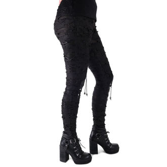 kalhoty dámské (legíny) Devil Fashion - Gothic Radella, DEVIL FASHION