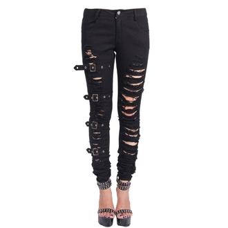 kalhoty dámské Devil Fashion - Gothic Chaos, DEVIL FASHION