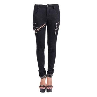 kalhoty dámské Devil Fashion - Gothic Salem, DEVIL FASHION