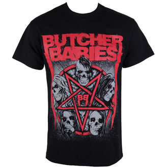 tričko pánské BUTCHER BABIES - STAR SKULL - RAZAMATAZ, RAZAMATAZ, Butcher Babies