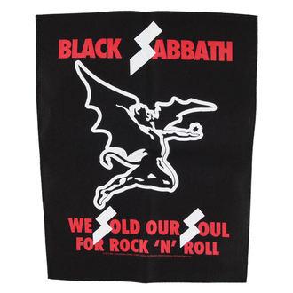nášivka BLACK SABBATH - WE SOLD OUR SOULS - RAZAMATAZ, RAZAMATAZ, Black Sabbath