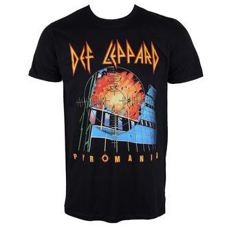 tričko pánské Def Leppard - Pyromania - PLASTIC HEAD, PLASTIC HEAD, Def Leppard