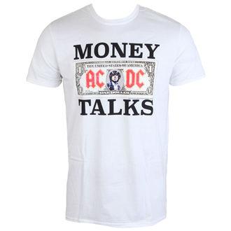 tričko pánské AC/DC - Money Talks - LOW FREQUENCY - White - WACTS050014