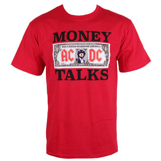 tričko pánské AC/DC - Money Talks - LOW FREQUENCY - Red - ACTS050014