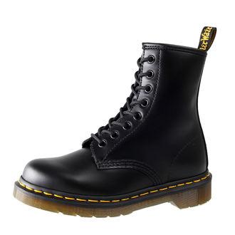 boty Dr. Martens - 8 dírkové - Smooth Black - 1460, Dr. Martens