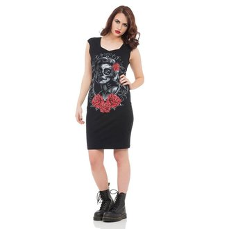 šaty dámské JAWBREAKER - Black Marlyn - DRA8206