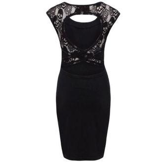 šaty dámské JAWBREAKER - Black Marlyn