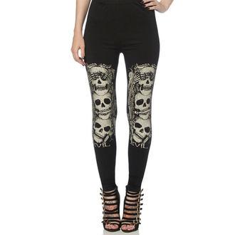 kalhoty dámské (legíny) JAWBREAKER - Black - LGA6516