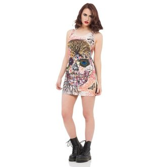 šaty dámské JAWBREAKER - Multi Skull