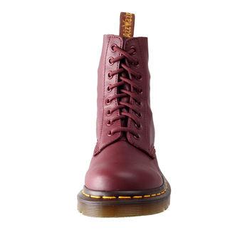 boty Dr. Martens - 8 dírkové - Pascal Cherry Red Virginia, Dr. Martens