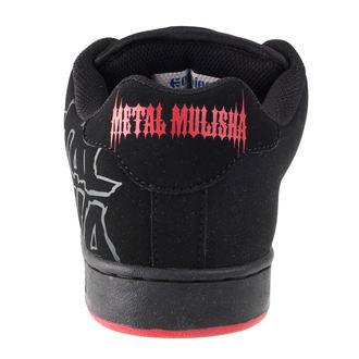 boty pánské ETNIES - Metal Mulisha Fader - BLACK/BLACK/RED