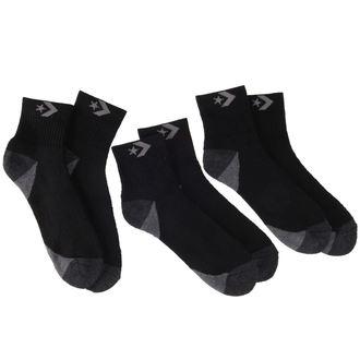 ponožky CONVERSE - 3-pack - BLK, CONVERSE