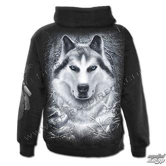 mikina pánská SPIRAL - Wolf - White - POŠKOZENÁ, SPIRAL