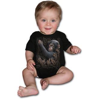 dětské body SPIRAL - Monkey Business - Black