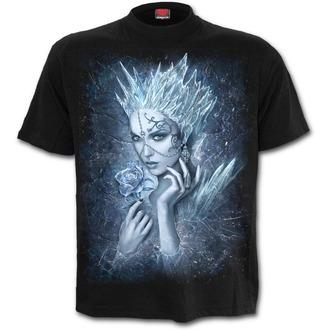 tričko pánské SPIRAL - Ice Queen - Black - L028M101