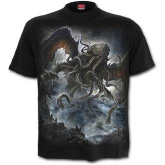 tričko pánské SPIRAL - Cthulhu - Black