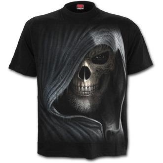 tričko pánské SPIRAL - Darkness - Black - M021M101