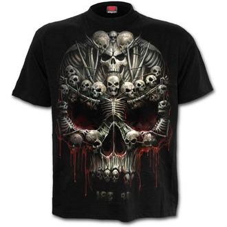 tričko pánské SPIRAL - Death Bones - Black