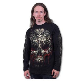 tričko pánské s dlouhým rukávem SPIRAL - Death Bones - T126M301