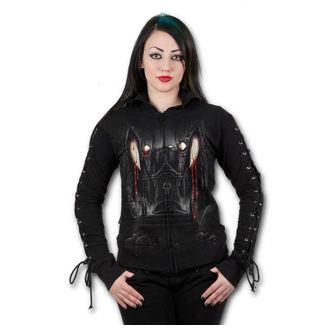 mikina dámská SPIRAL - Vamp Fangs - Black, SPIRAL