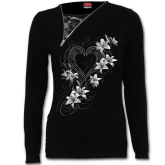 tričko dámské s dlouhým rukávem SPIRAL - Pure Of Heart - F029F457