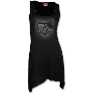 šaty dámské SPIRAL - Resting with Angels - Black, SPIRAL