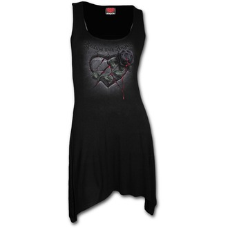 šaty dámské SPIRAL - Resting with Angels - Black