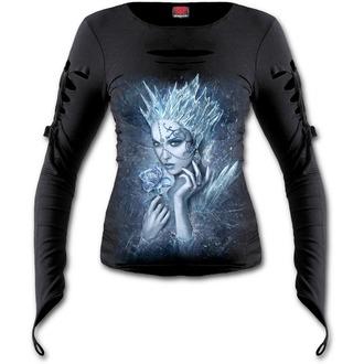 tričko dámské s dlouhým rukávem SPIRAL - Ice Queen - Black