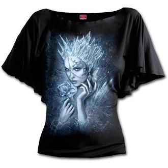 tričko dámské SPIRAL - Ice Queen - Black