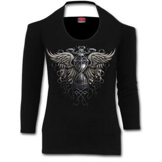 tričko dámské s dlouhým rukávem SPIRAL - Darkness - M021F458