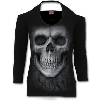 tričko dámské SPIRAL - Solemn Skull - S012F458