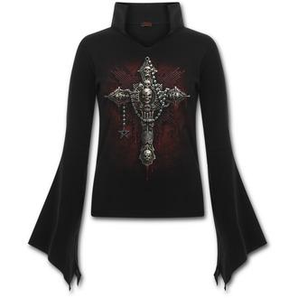 tričko dámské s dlouhým rukávem SPIRAL - Death Bones
