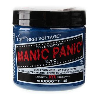 barva na vlasy MANIC PANIC - Classic - Voodoo Blue, MANIC PANIC
