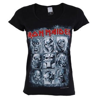 tričko dámské IRON MAIDEN - EDDIES - AMPLIFIED