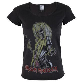 tričko dámské IRON MAIDEN - KILLER - AMPLIFIED - AV601IMK