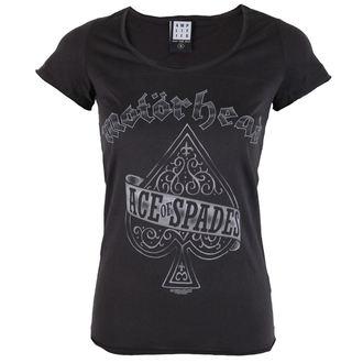 tričko dámské Motörhead - Ace Of - AMPLIFIED, AMPLIFIED, Motörhead