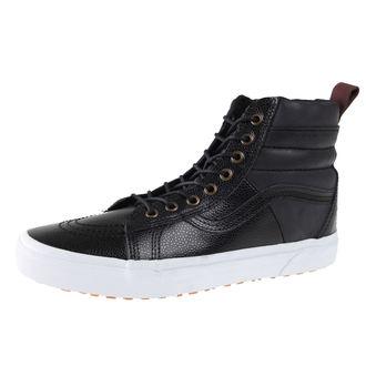 boty pánské VANS - SK8-HI 46 MTE - Pebble Leather, VANS