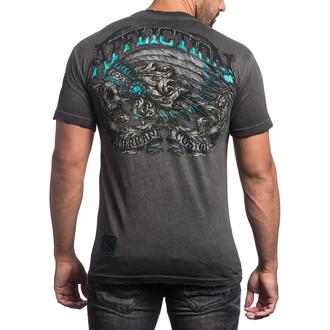 tričko pánské AFFLICTION - Apache Freedom - BKGE, AFFLICTION