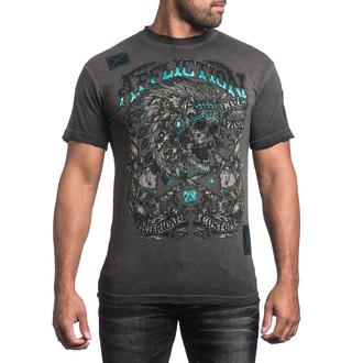tričko pánské AFFLICTION - Apache Freedom - BKGE - A13328